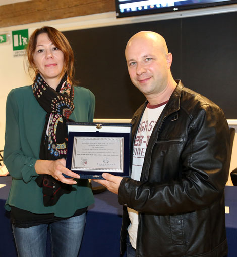photo of director Matteo Valenti - SPECIAL AWARD FOR THE BEST ANIMATED FILM RECOMMENDED FOR CHILDREN
