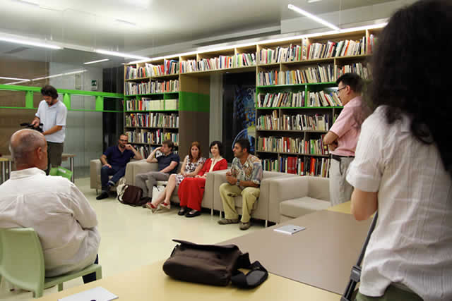 Photo on July 2, 2012: Meeting the Authors (GO - Friuli Venezia Giulia - Italy)